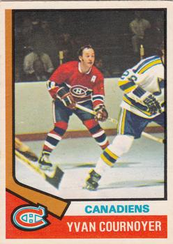 1974-75 O-Pee-Chee #140 Yvan Cournoyer
