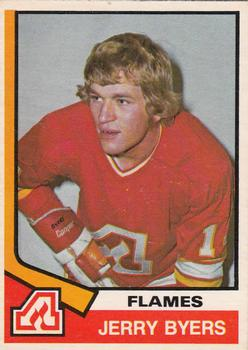 1974-75 O-Pee-Chee #273 Jerry Byers RC