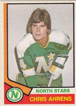 1974-75 O-Pee-Chee #346 Chris Ahrens RC