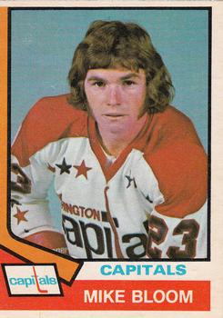 1974-75 O-Pee-Chee #369 Mike Bloom RC