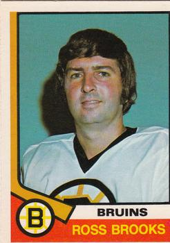 1974-75 O-Pee-Chee #376 Ross Brooks RC
