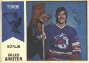 1974-75 O-Pee-Chee WHA #65 Gilles Gratton RC