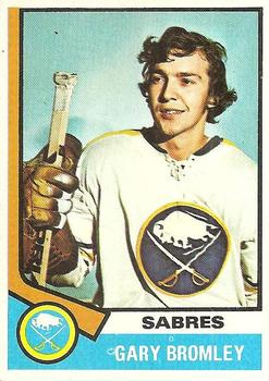 1974-75 Topps #7 Gary Bromley RC