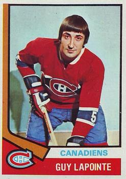 1974-75 Topps #70 Guy Lapointe
