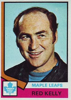 1974-75 Topps #76 Red Kelly CO