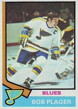 1974-75 Topps #107 Bob Plager UER/(Photo actually/Barclay Plager)