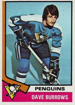 1974-75 Topps #241 Dave Burrows