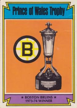 1974-75 Topps #247 Prince of Wales Trophy