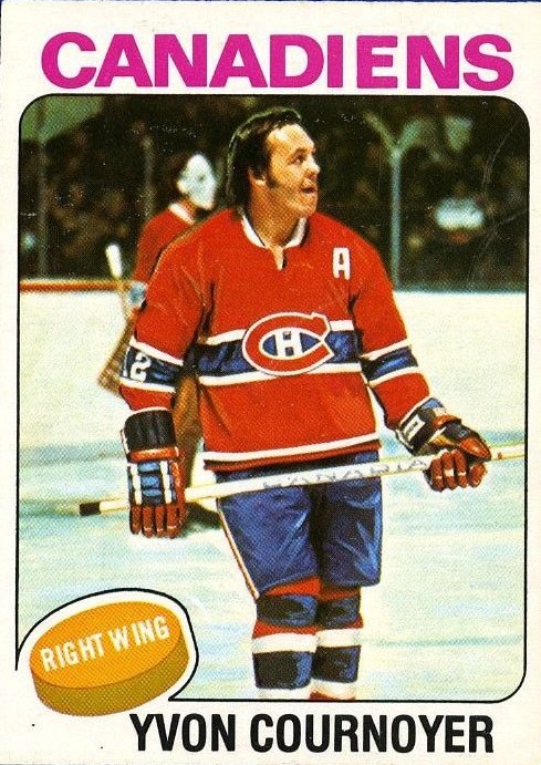 1975-76 O-Pee-Chee #70 Yvan Cournoyer