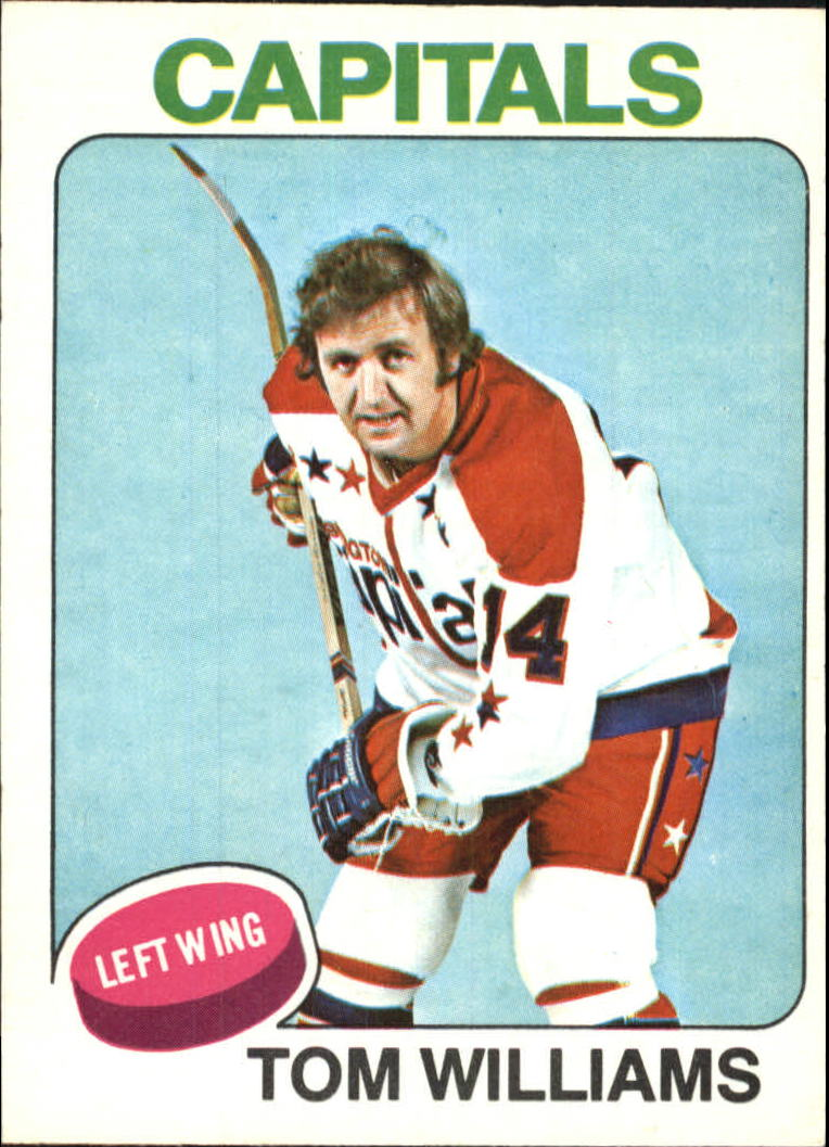 1975-76 O-Pee-Chee #79 Tom Williams
