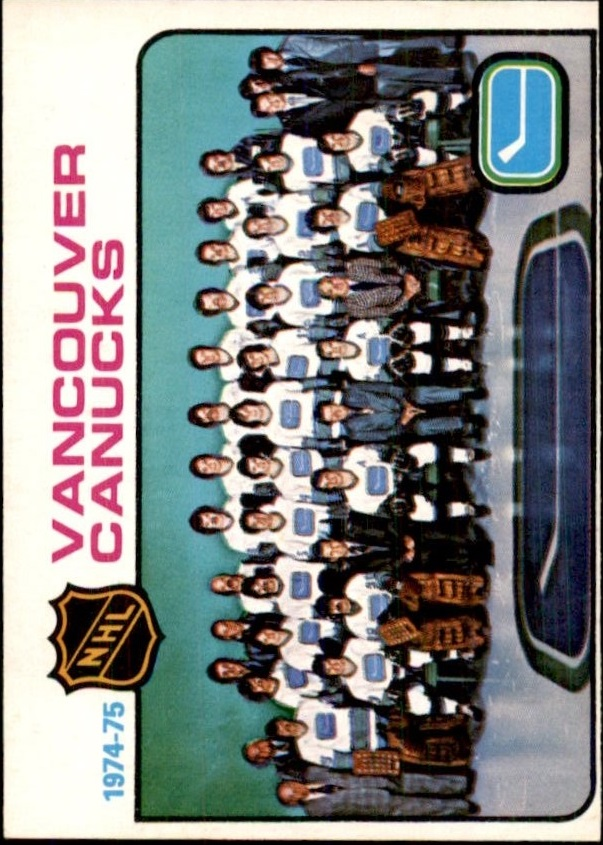 1975-76 O-Pee-Chee #97 Canucks Team