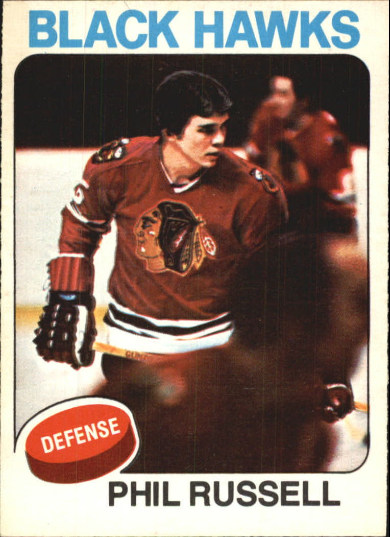 1975-76 O-Pee-Chee #102 Phil Russell