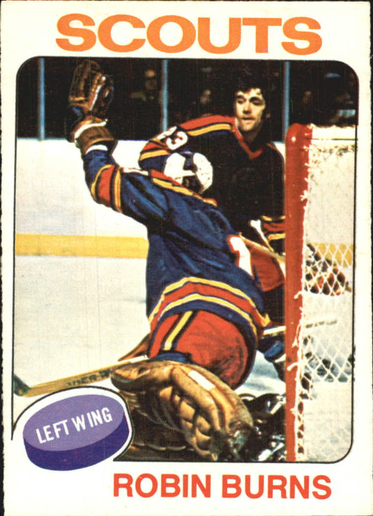 1975-76 O-Pee-Chee #104 Robin Burns RC