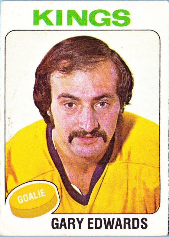 1975-76 O-Pee-Chee #105 Gary Edwards