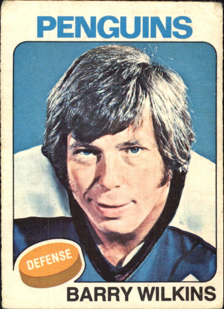 1975-76 O-Pee-Chee #148 Barry Wilkins
