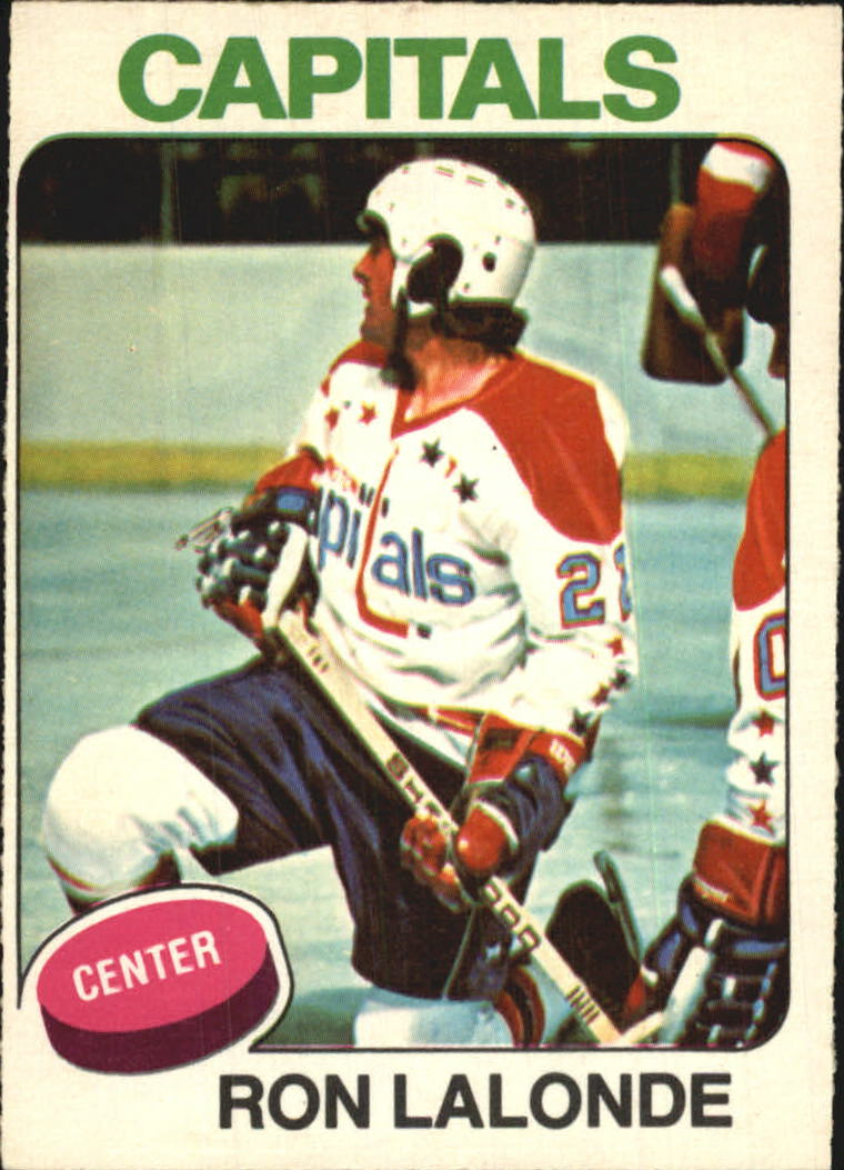 1975-76 O-Pee-Chee #152 Ron Lalonde RC