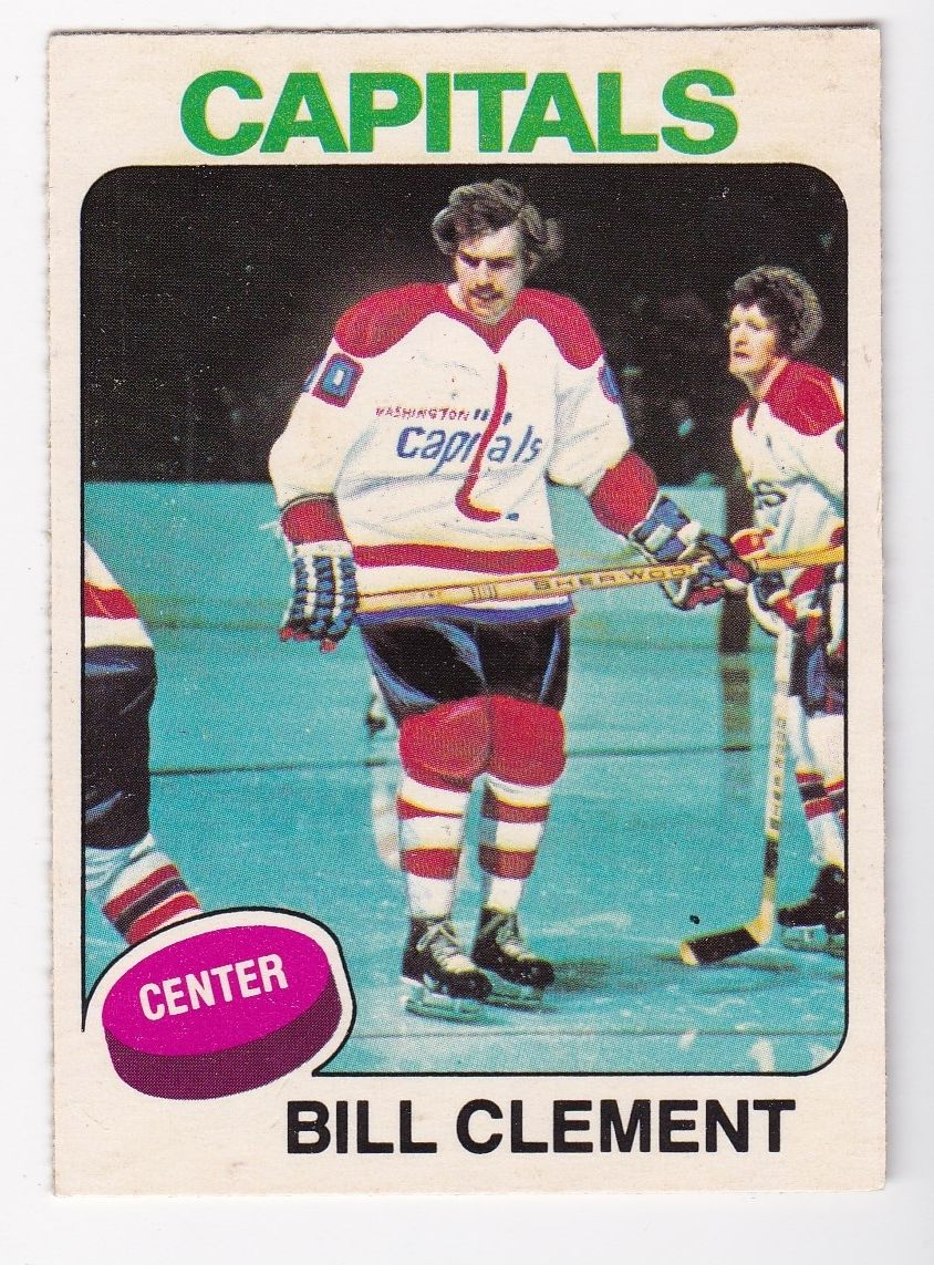 1975-76 O-Pee-Chee #189 Bill Clement