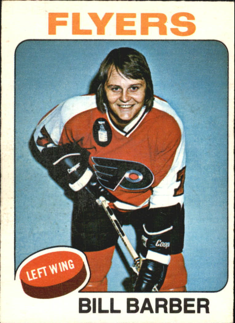 1975-76 O-Pee-Chee #226 Bill Barber