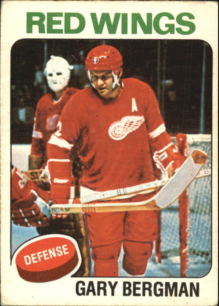 1975-76 O-Pee-Chee #236A Gary Bergman/(No mention of trade)