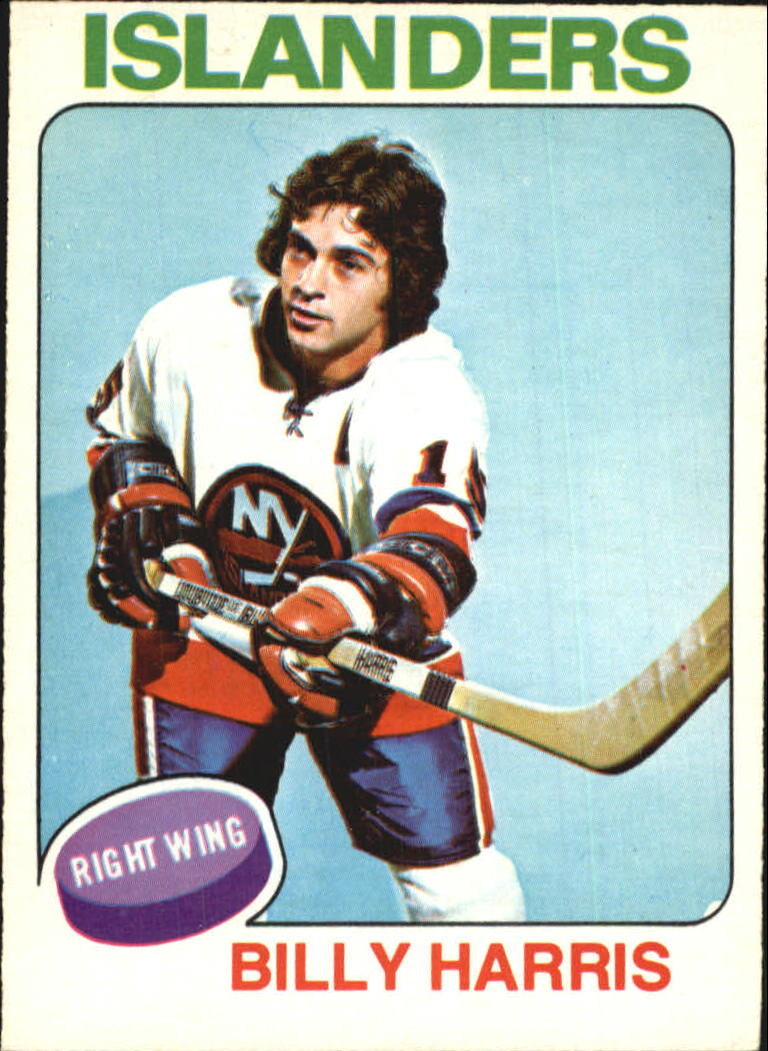 1975-76 O-Pee-Chee #242 Billy Harris