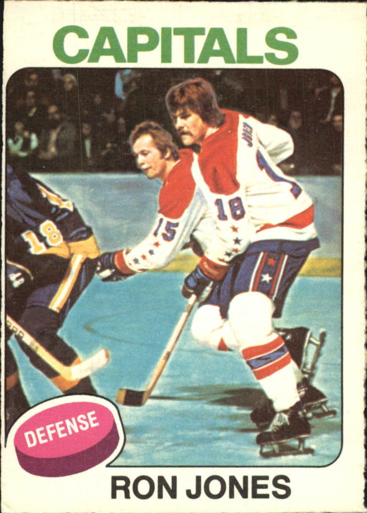 1975-76 O-Pee-Chee #247 Ron Jones RC