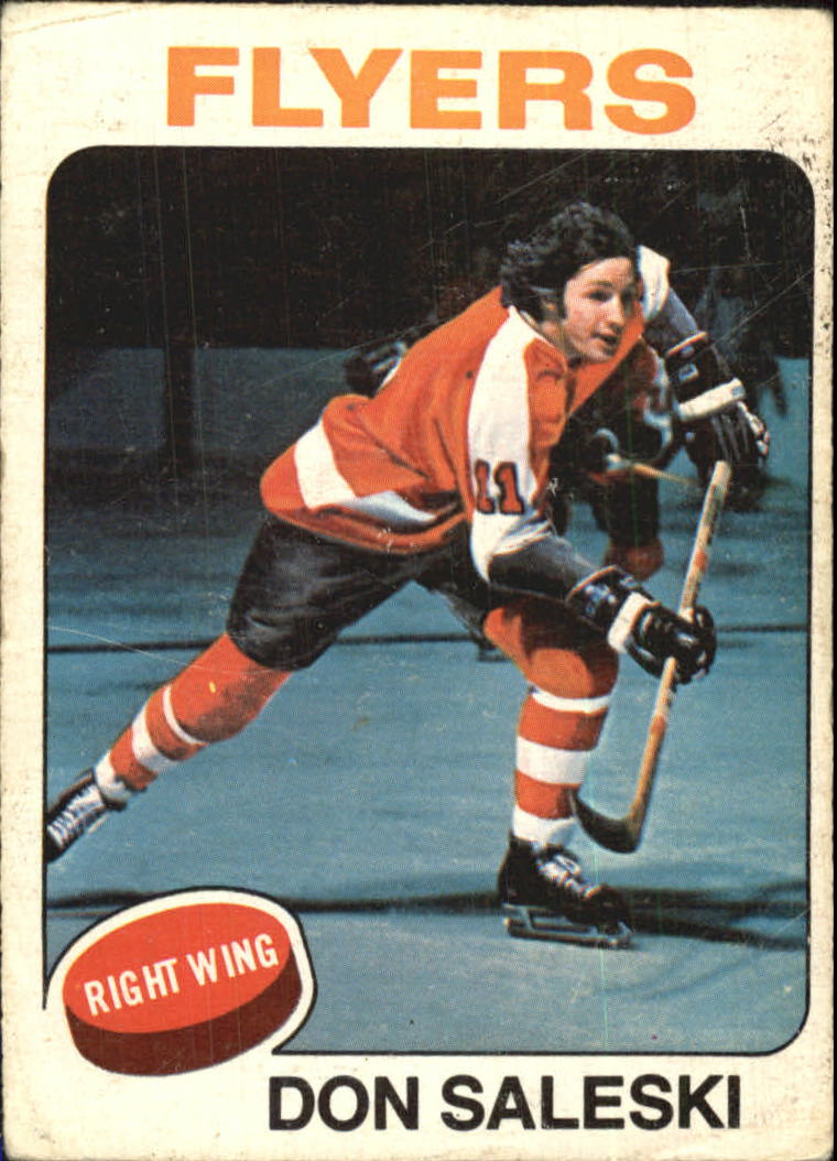 1975-76 O-Pee-Chee #262 Don Saleski