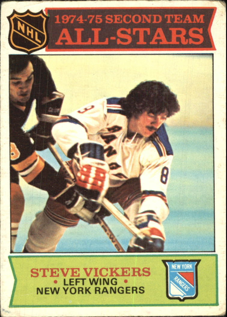 1975-76 O-Pee-Chee #295 Steve Vickers AS2