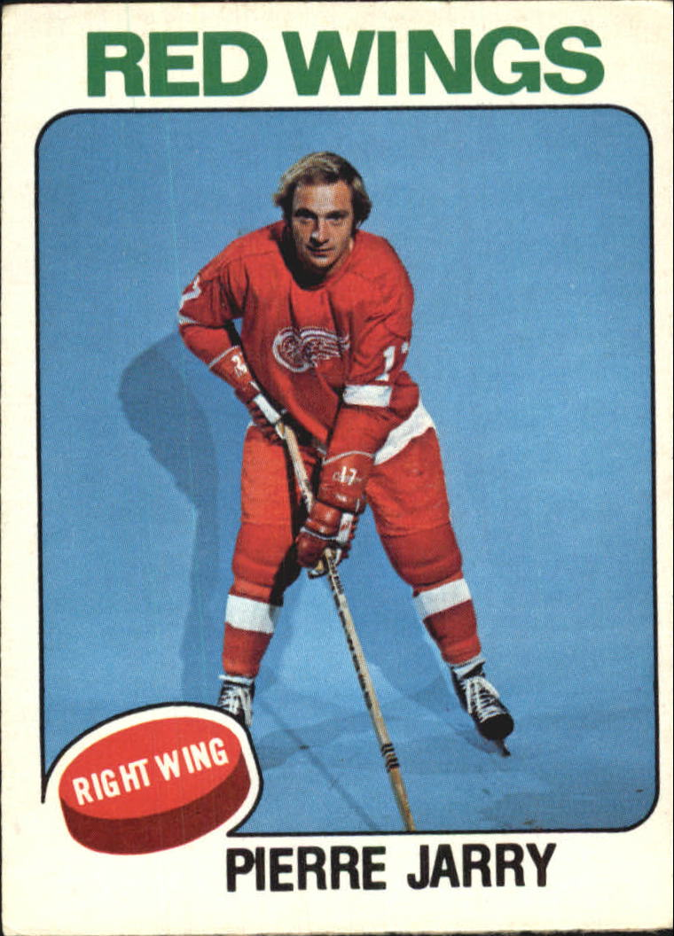 1975-76 O-Pee-Chee #359A Pierre Jarry/(No mention of trade)