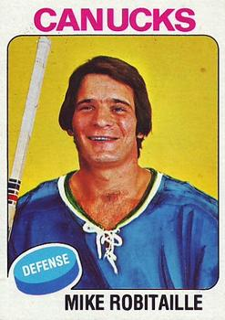 1975-76 Topps #24 Mike Robitaille