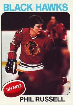1975-76 Topps #102 Phil Russell