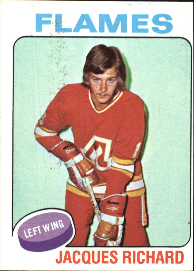 1975-76 Topps #117 Jacques Richard front image