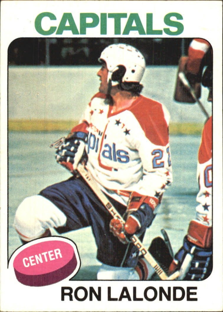 1975-76 Topps #152 Ron Lalonde RC