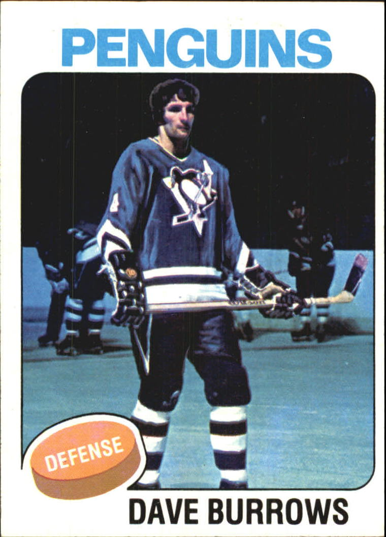 1975-76 Topps #186 Dave Burrows