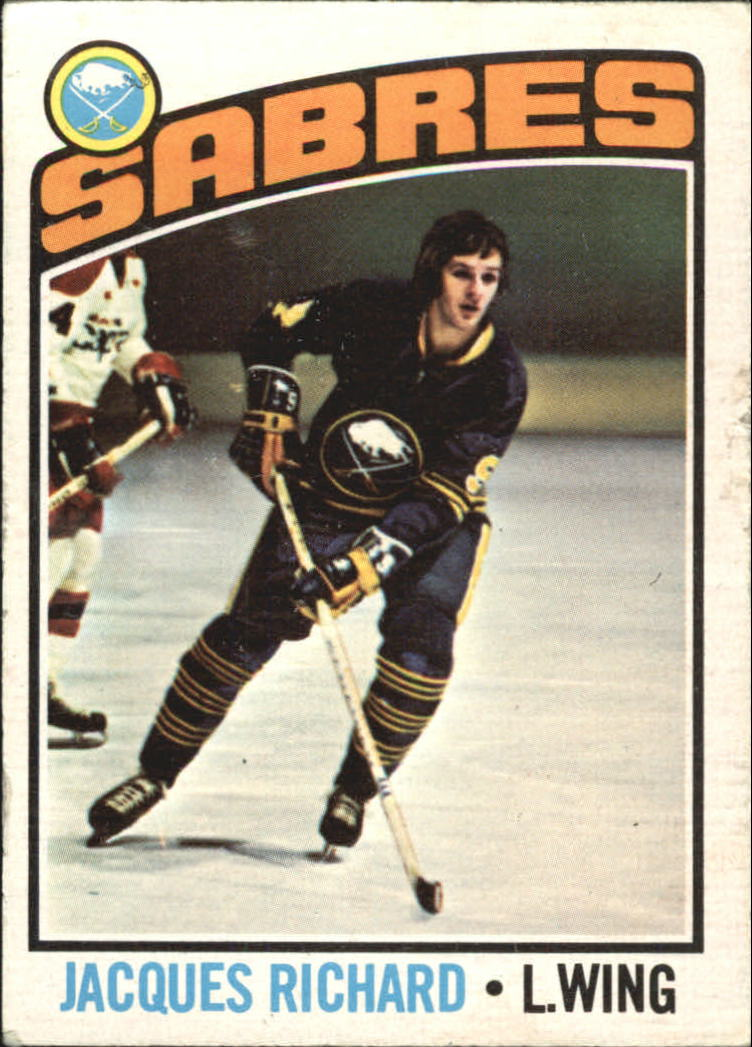 1976-77 O-Pee-Chee #8 Jacques Richard