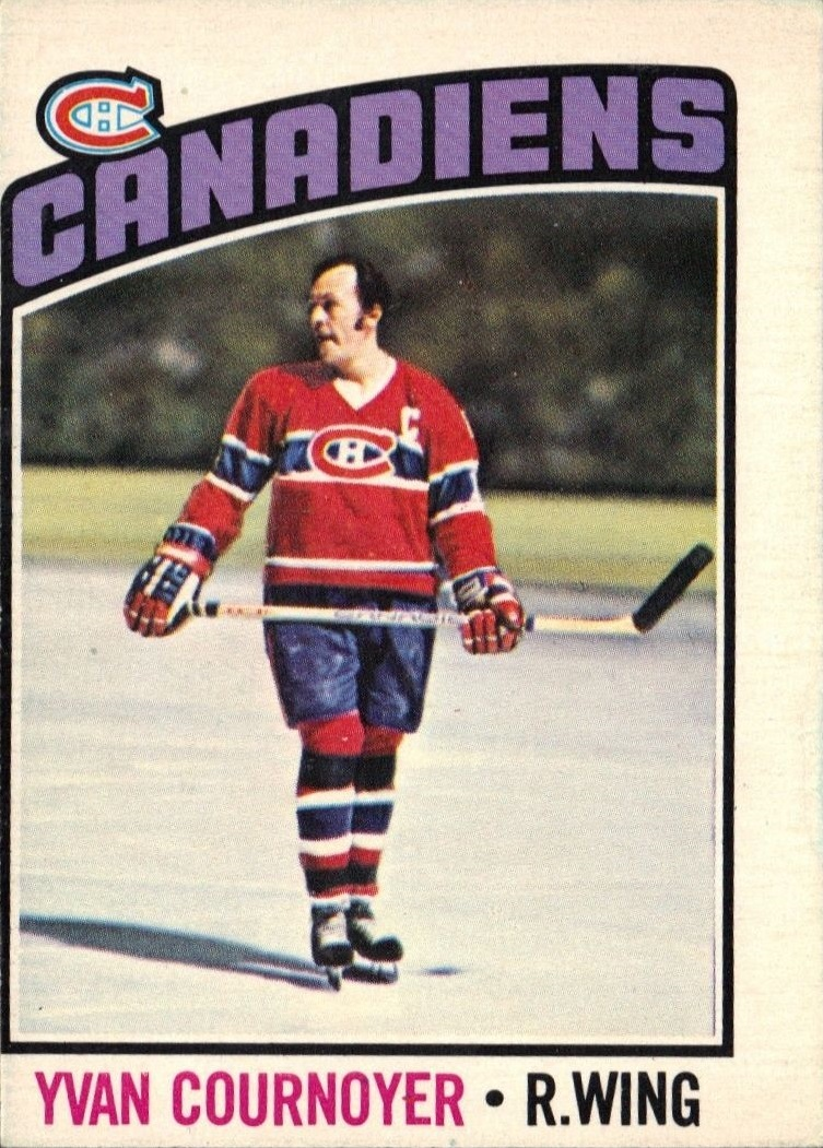 1976-77 O-Pee-Chee #30 Yvan Cournoyer