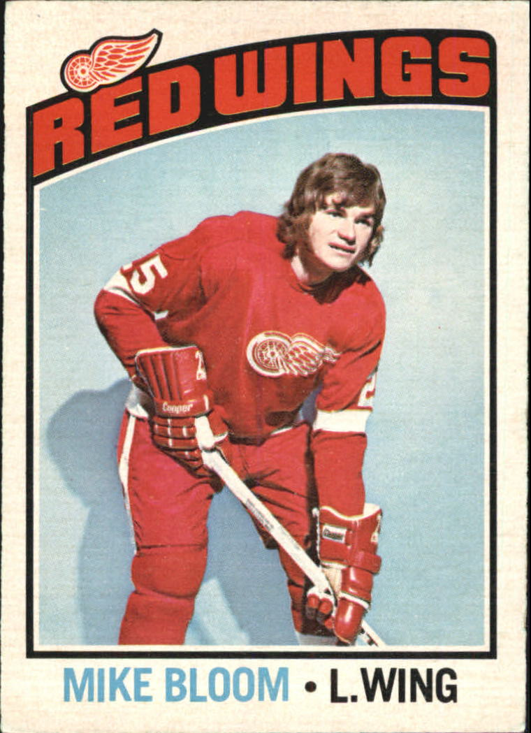 1976-77 O-Pee-Chee #56 Mike Bloom