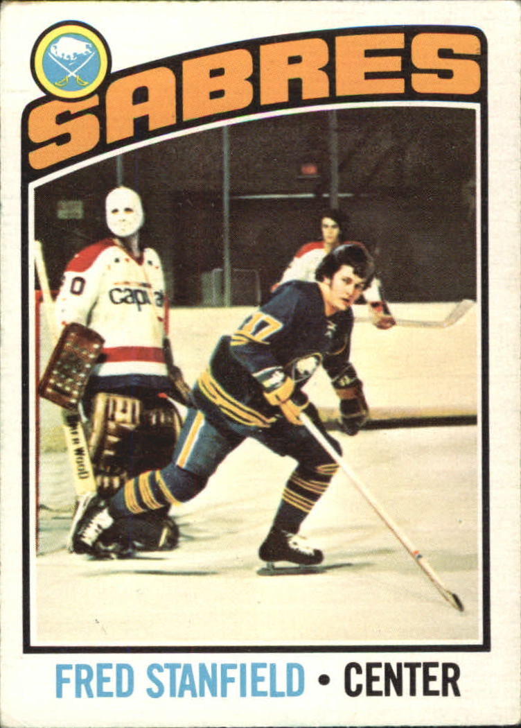 1976-77 O-Pee-Chee #58 Fred Stanfield
