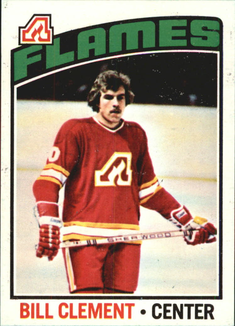 1976-77 O-Pee-Chee #82 Bill Clement