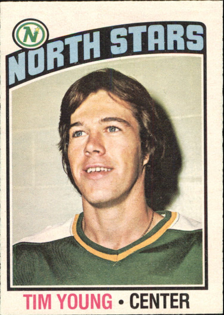 1976-77 O-Pee-Chee #158 Tim Young RC