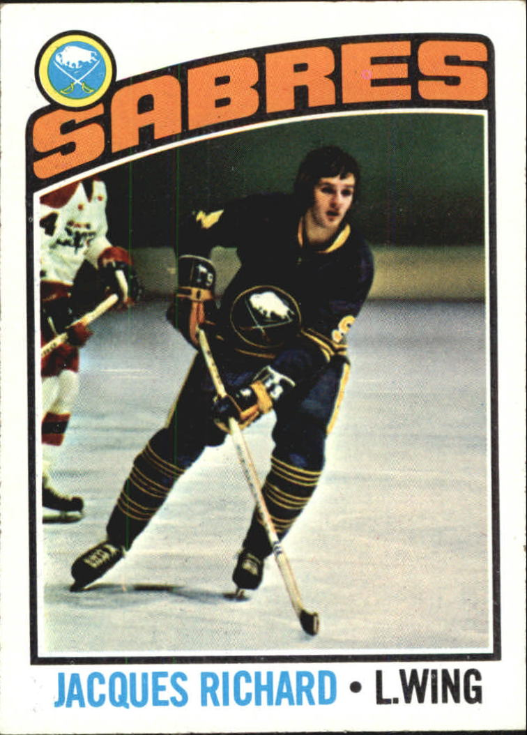 1976-77 Topps #8 Jacques Richard