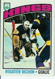1976-77 Topps #40 Rogatien Vachon