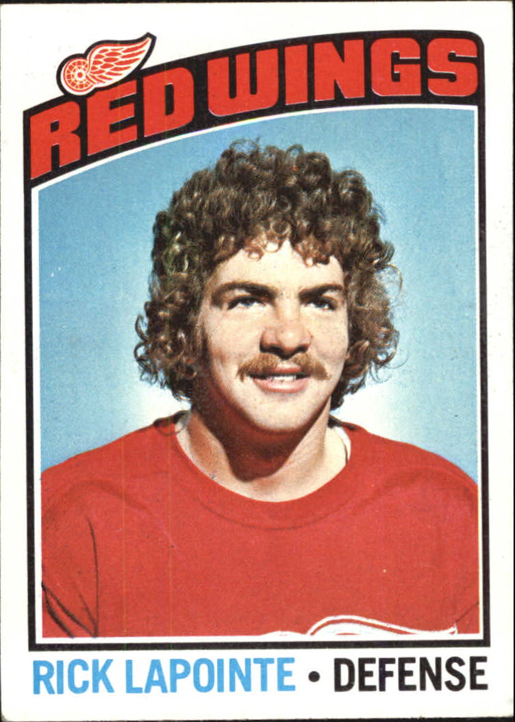 1976-77 Topps #48 Rick Lapointe RC