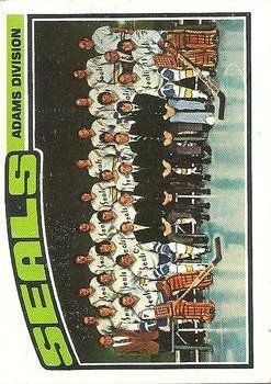 1976-77 Topps #135 Seals Team