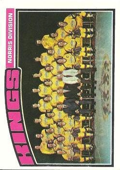 1976-77 Topps #139 Kings Team