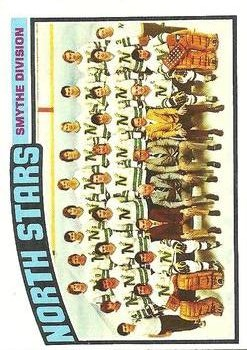 1976-77 Topps #140 North Stars Team