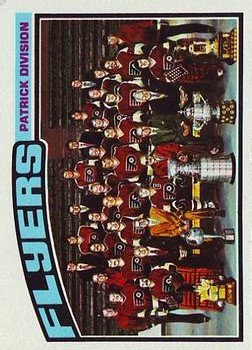 1976-77 Topps #144 Flyers Team