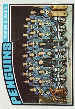 1976-77 Topps #145 Penguins Team