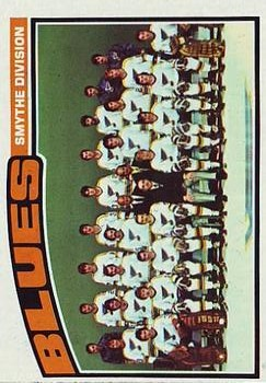 1976-77 Topps #146 Blues Team