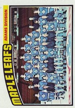 1976-77 Topps #147 Maple Leafs Team