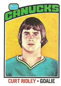 1976-77 Topps #197 Curt Ridley RC